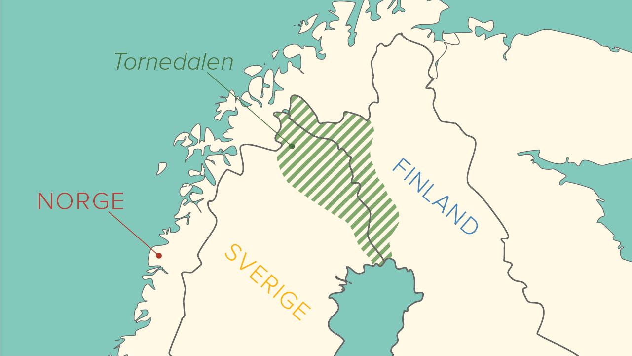 tornedalen karta Tornedalingar – ursprung och utbredning – åk 7,8,9 tornedalen karta